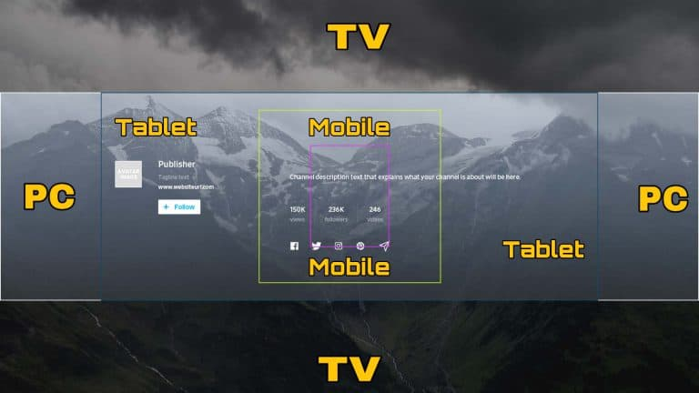 Dailymotion Banner Template