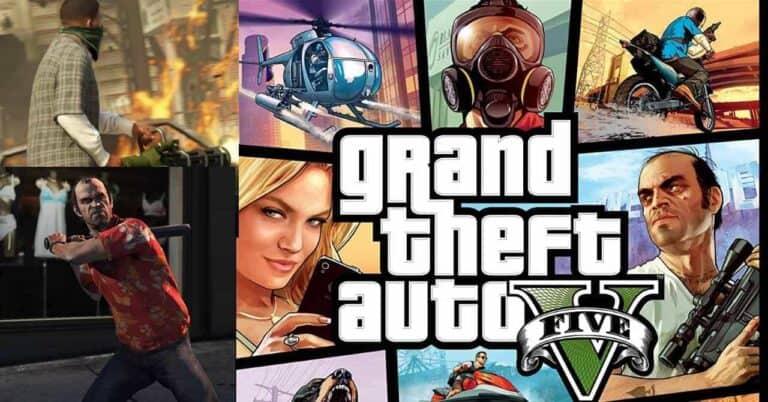 GTA 5 Mobile APK Download 2021- All File- GTA 5 Android version