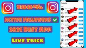 Instagram Real Likes Followers Kaise Badhaye- Best App