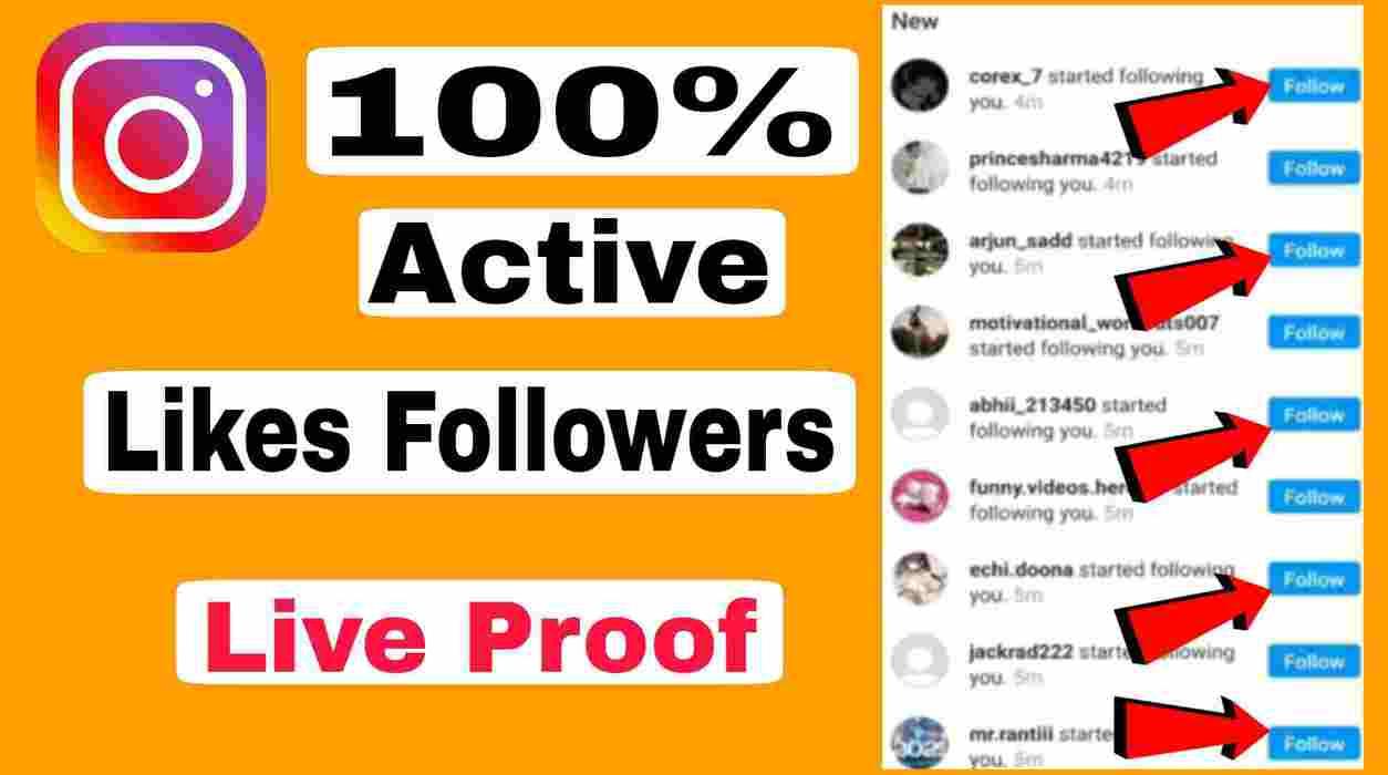 Instagram Par Free Likes Followers Kaise Badhaye- Best site