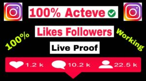 Instagram Par Free Likes Follwers Kaise Badhye- 100% Real
