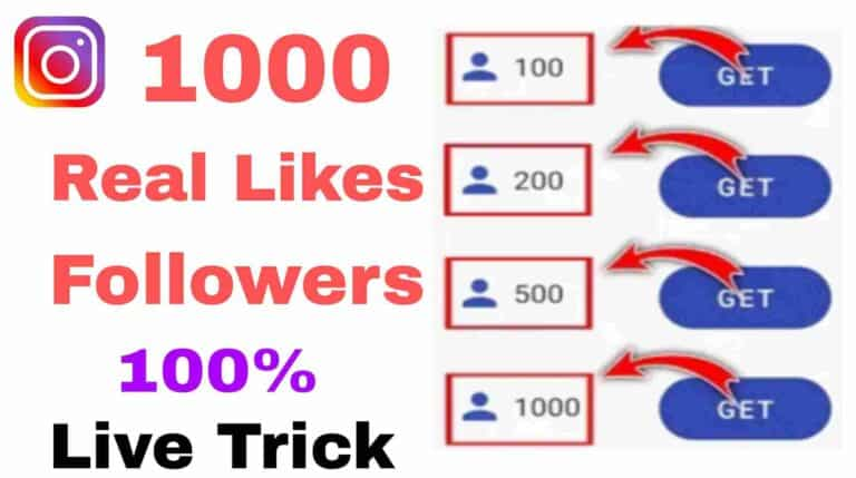 How To Get Instagram Likes And followers 2021- 100% Working App