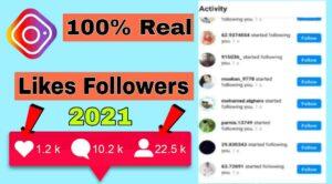 Instagram Followers App 2021- 100% Real Followers Best App