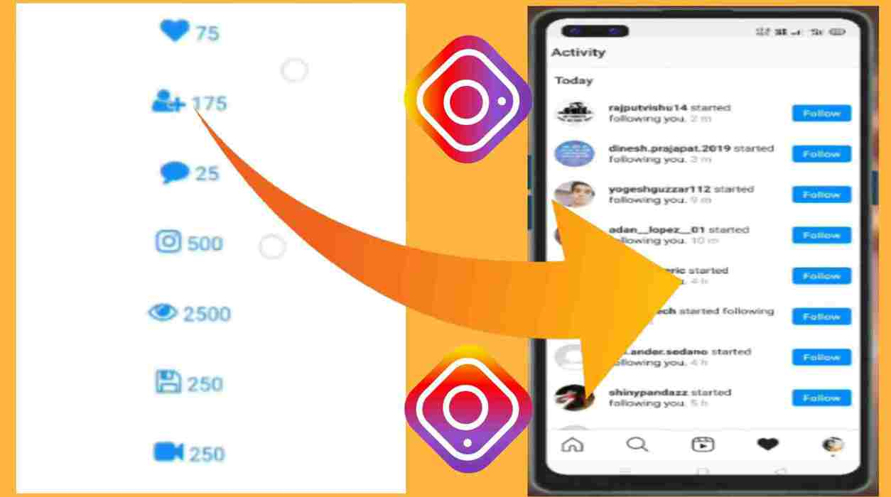 Get Free Instagram Followers- And Likes 2021- 100% Active Followers