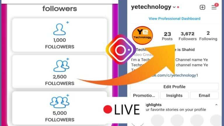Download instamoda 3.0-Free Followers On Instagram 2022