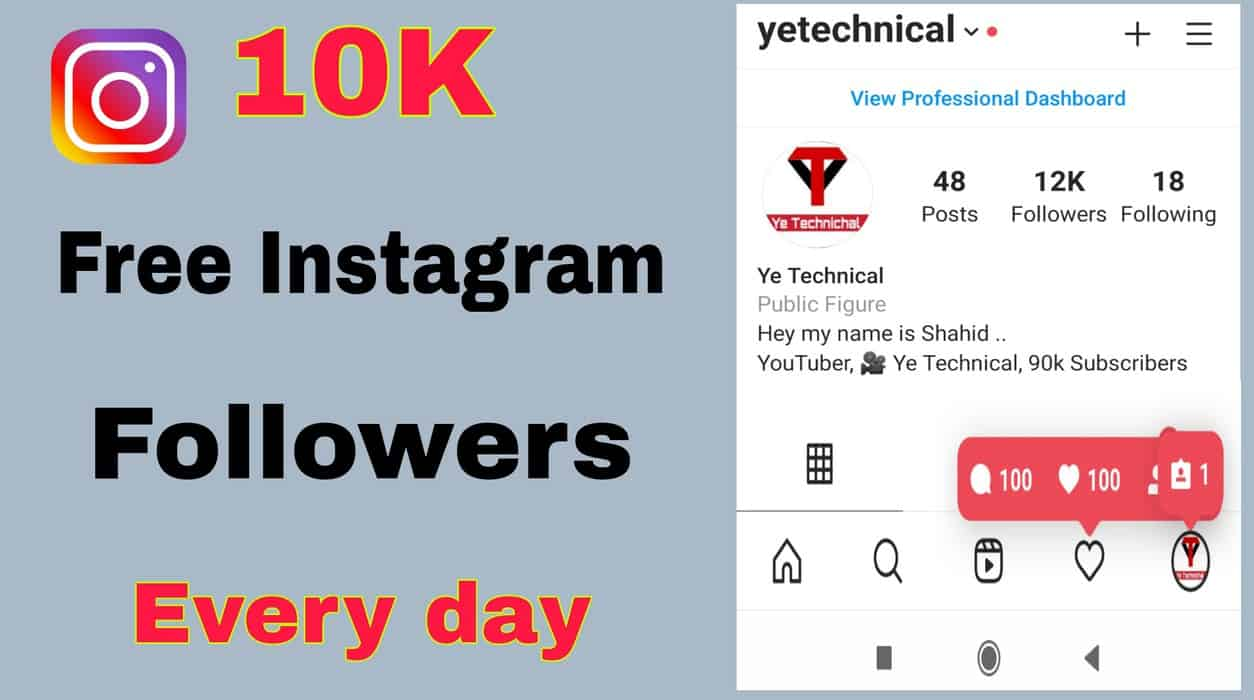 Free Instagram Followers 2021- Get Real Followers And Likes 2021