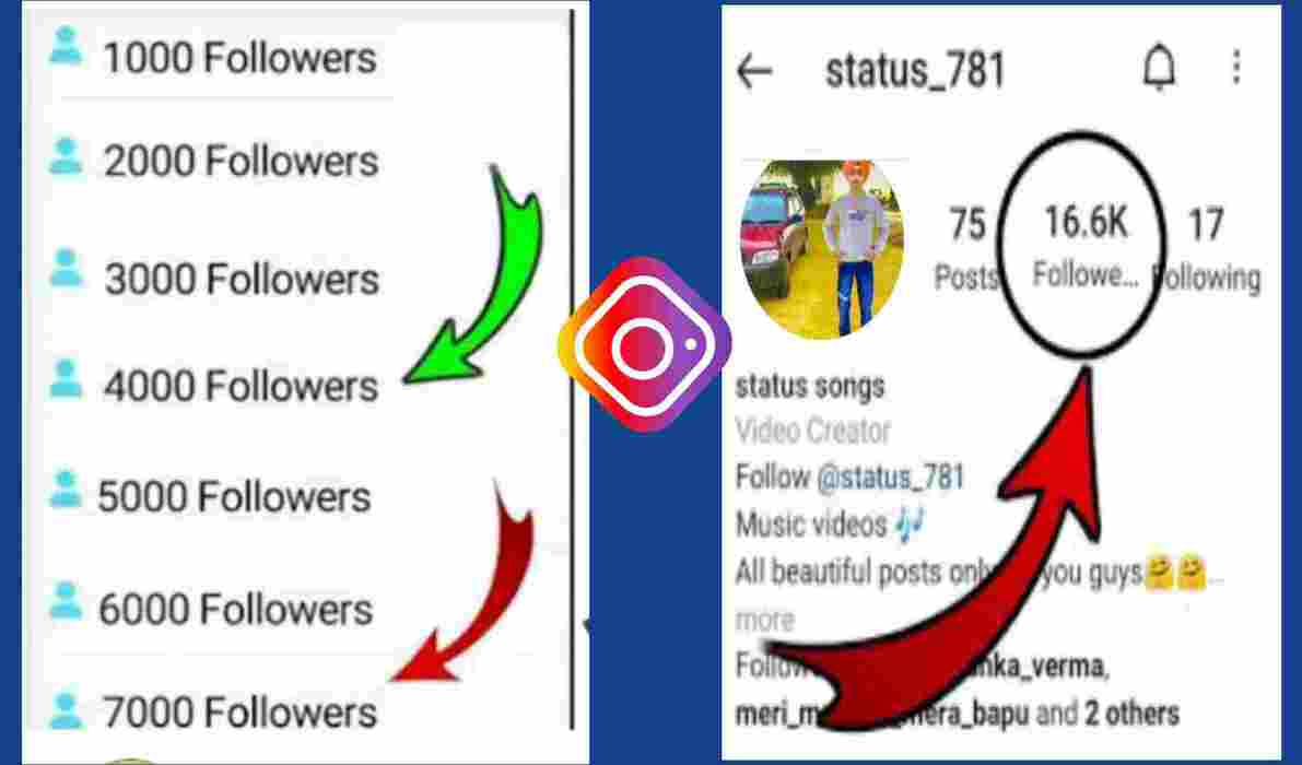 Instagram Free Followers- How To Increase Followers On Instagram 2021