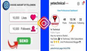 Increase Followers Instagram- Get Real Instagram Followers 100% Followers