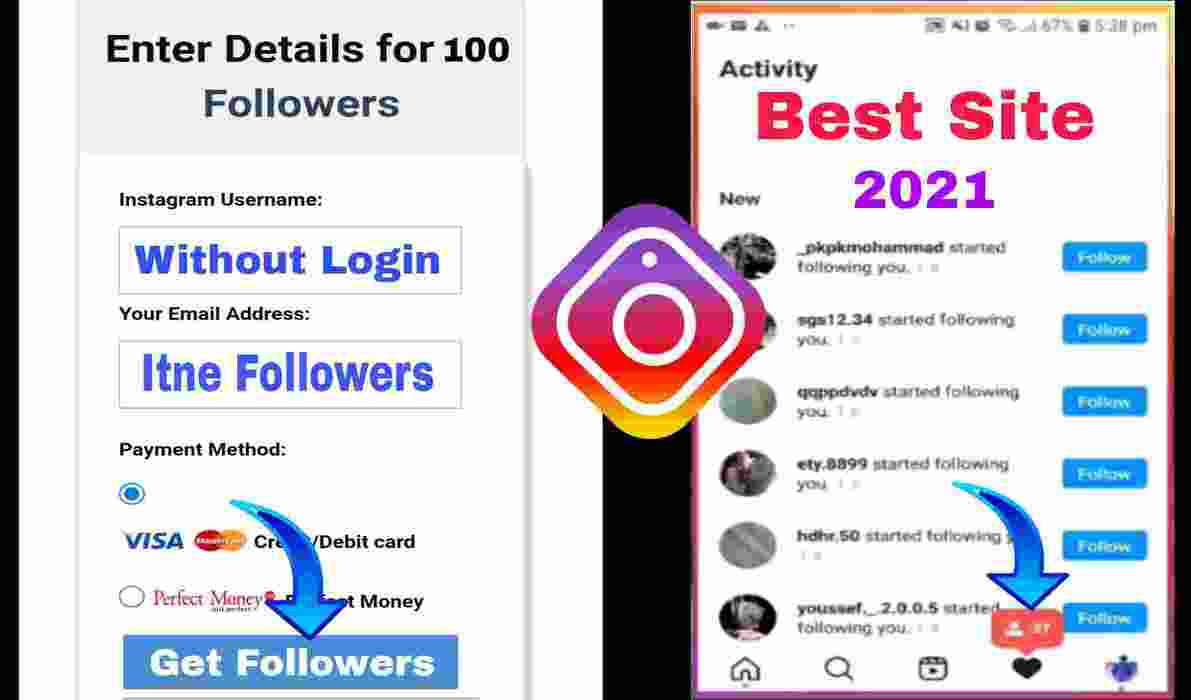 Without Login Free Increase Instagram Followers Website 2021-100%