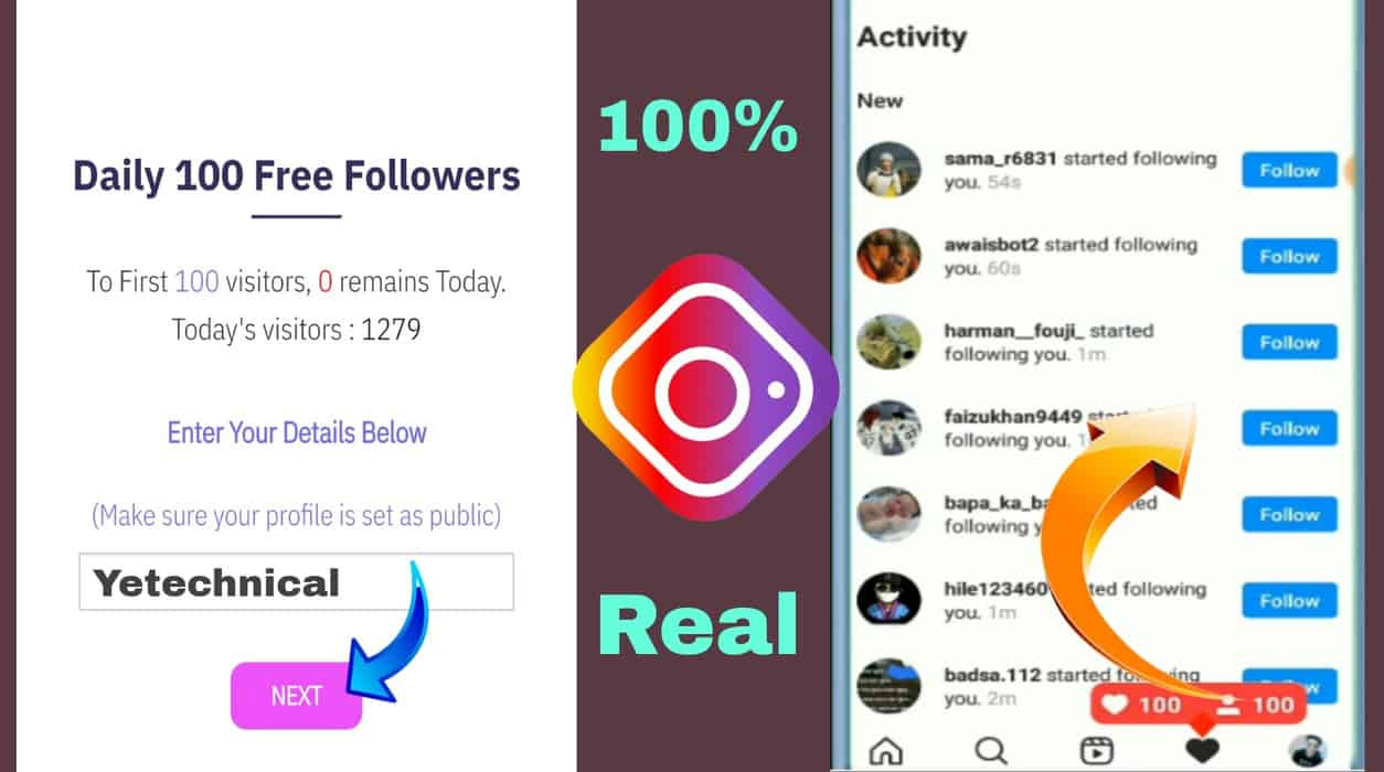 Free Followers On Instagram- Get Free Followers on Instagram 2021